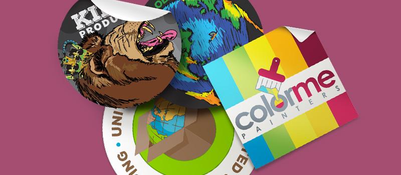 Labels Stickers - LOGO PRINT