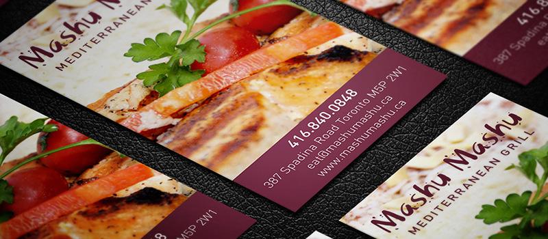 Magnet Cards Mississauga - Logo Print