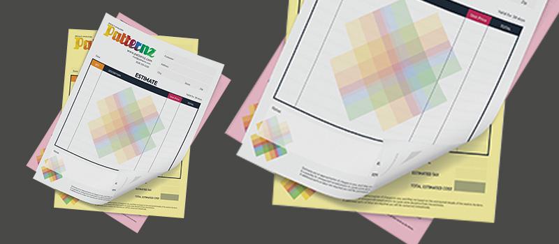 NCR Forms Printing - LOGO PRINT