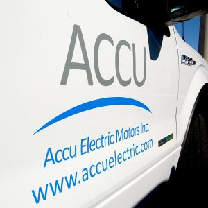 Vehicle Lettering for ACCU by LOGO PRINT