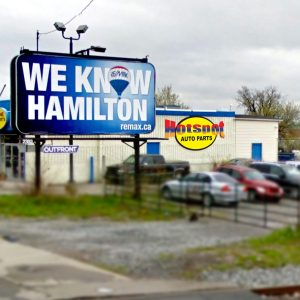 Hot Spot Outdoor Signage in Hamilton - LOGO PRINT