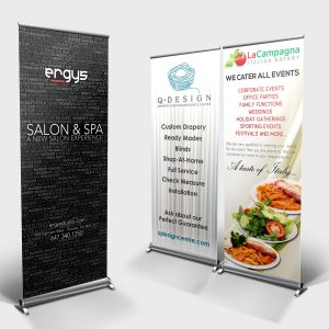 Rollup / Retractable / Pull Up Banners by LOGO PRINT