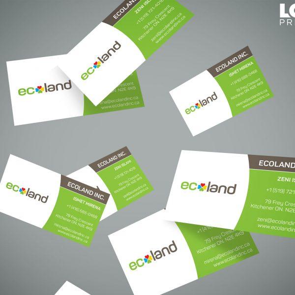 Business Card Designs Logo Print