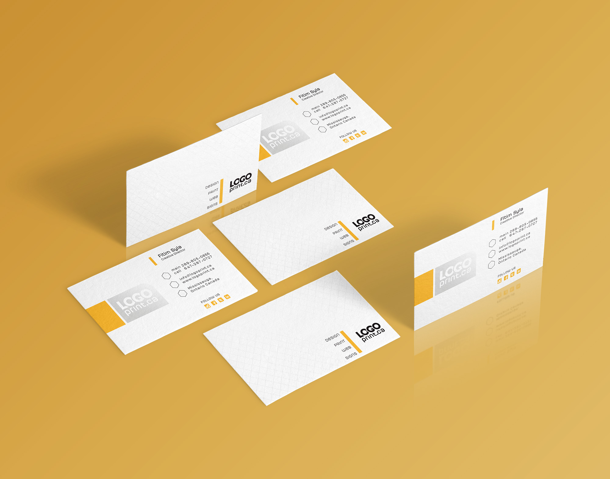 Design And Print Business Cards At Home Free Business Cards To Print ...