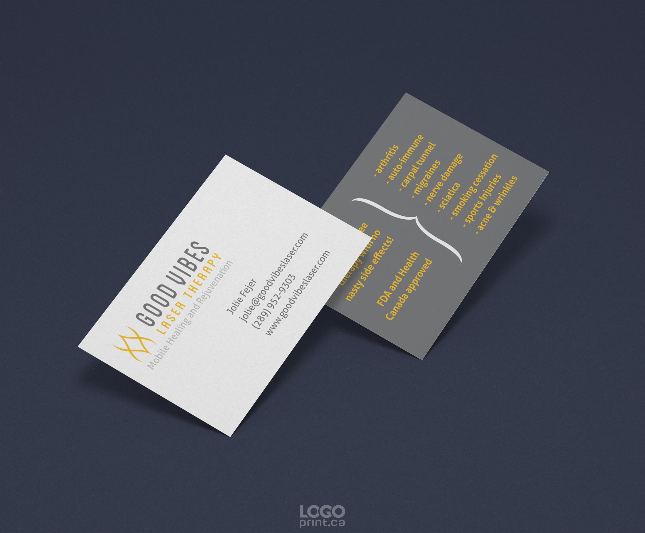 designs variety of business card designs by the creative team at logo