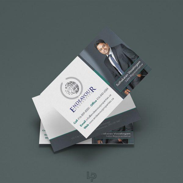 Endeavour Properties - Business Card - Logo Print