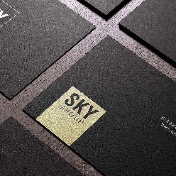 Sky Group - Business Card - Logo Print