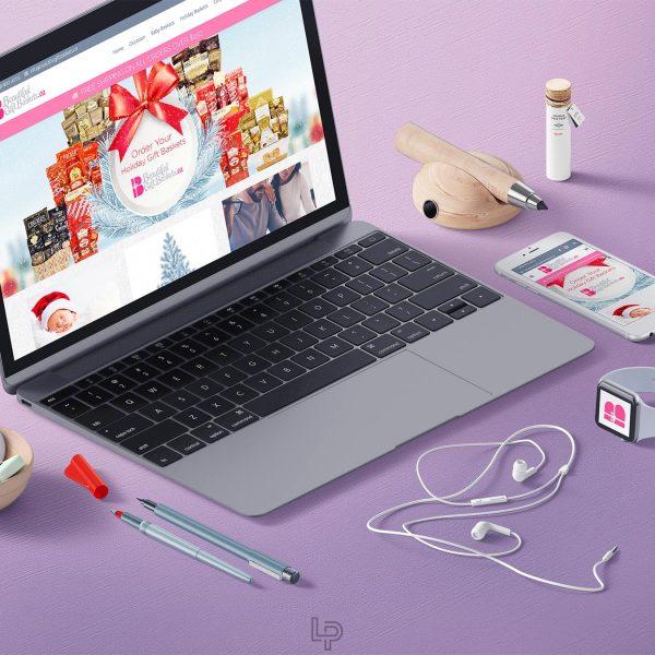 Beautiful Gift Baskets - Webdesign - Logo Print