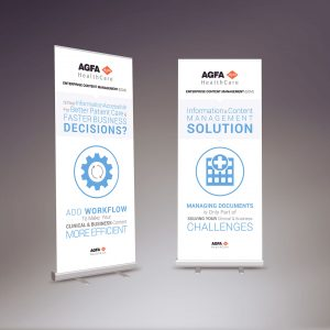 AGFA - Pull Up Banners by LOGO PRINT