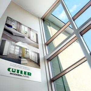 Cutler Modern Living Wardrobe Poster Design