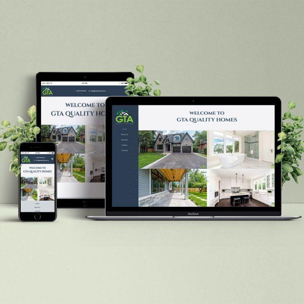 GTA Quality Homes - Website by LOGO PRINT