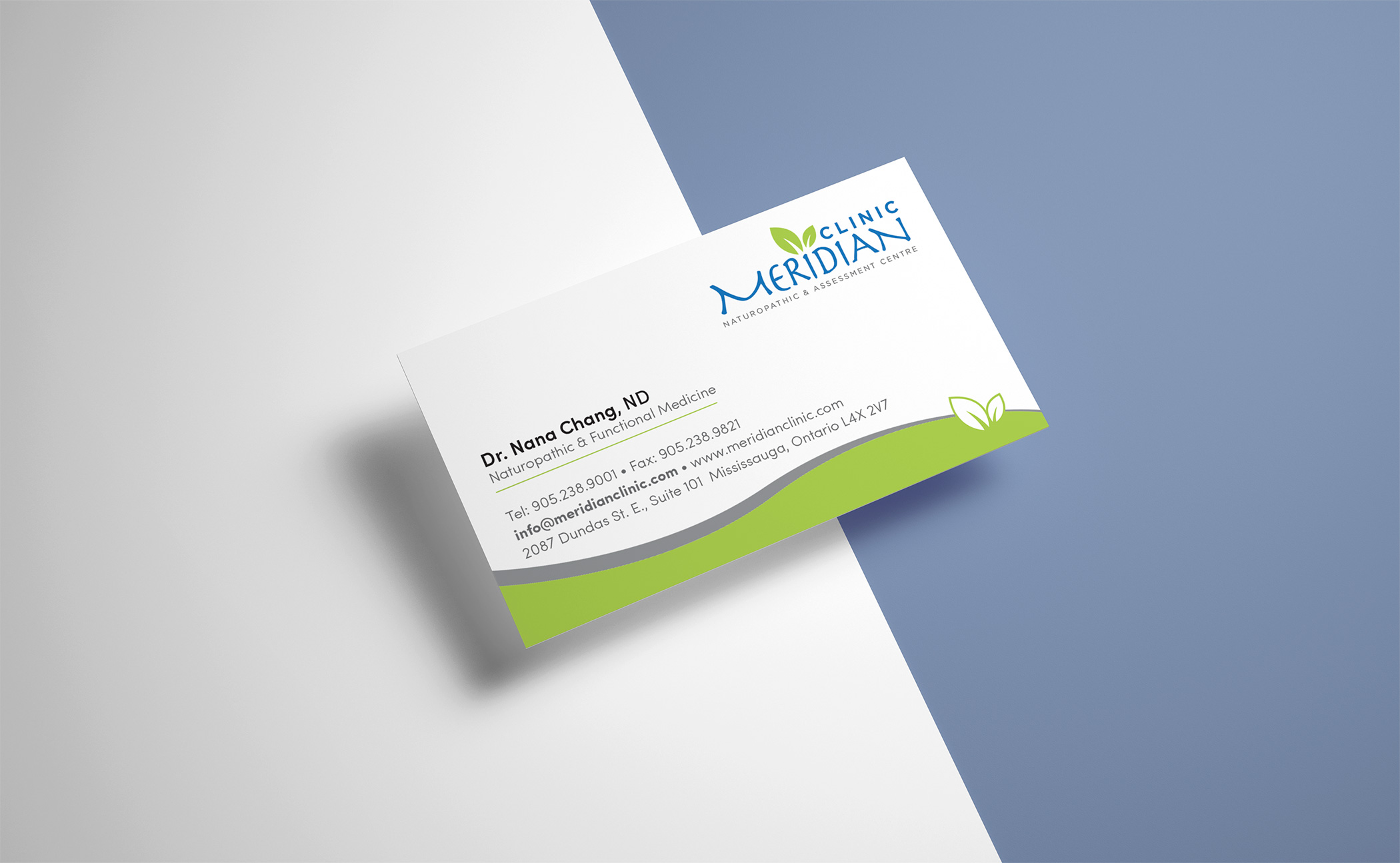 Business card designs logo print meridian clinic business cards by logo print meridian clinic business cards by logo print reheart Gallery