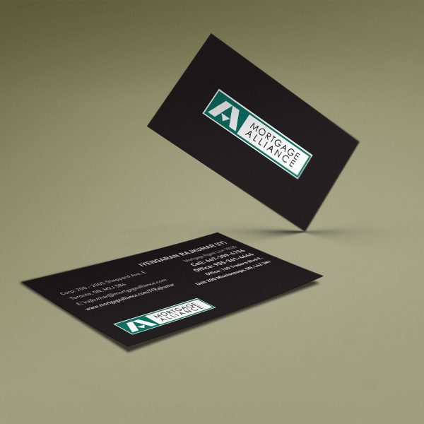 Mortgage Alliance Business Card by LOGO PRINT