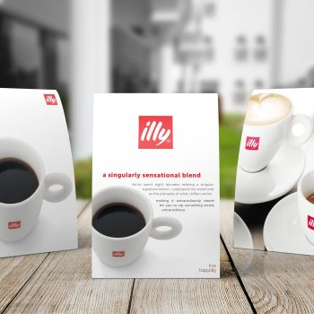 Illy - Table Tent Card