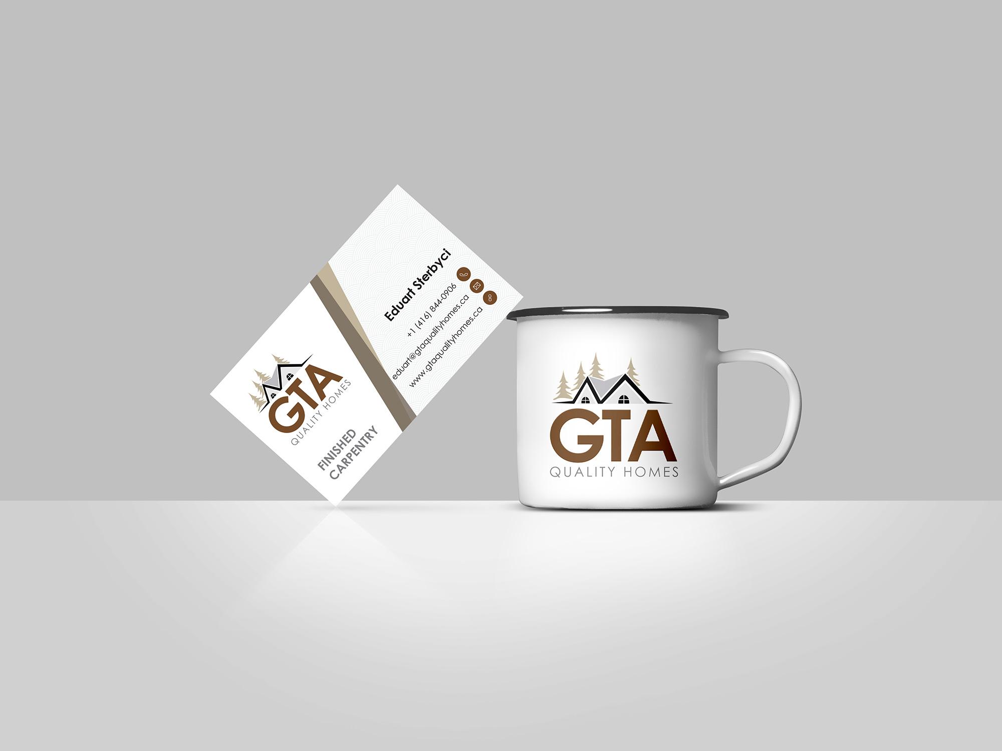 Business card designs logo print business card printing gta carpentry gta carpentry reheart Images
