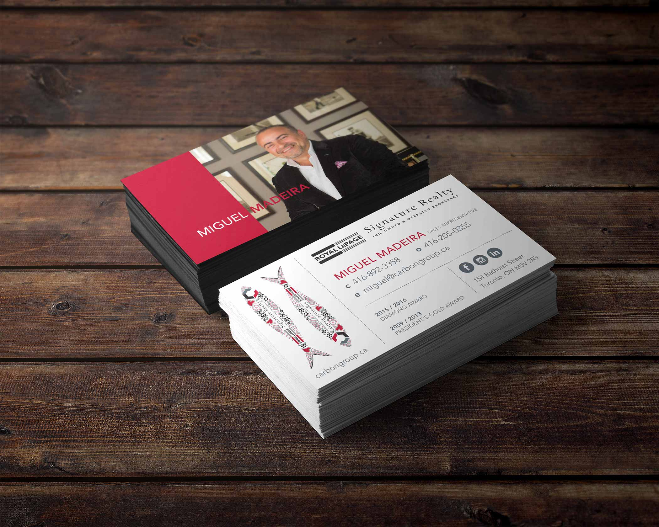 Business Card Designs - LOGO PRINT