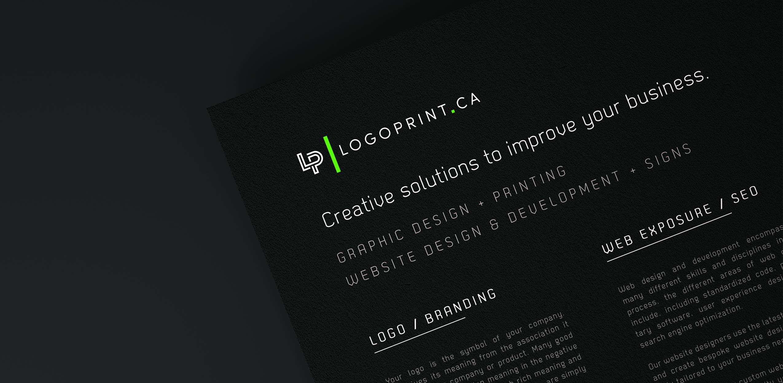 Mississauga Printing Logo Print